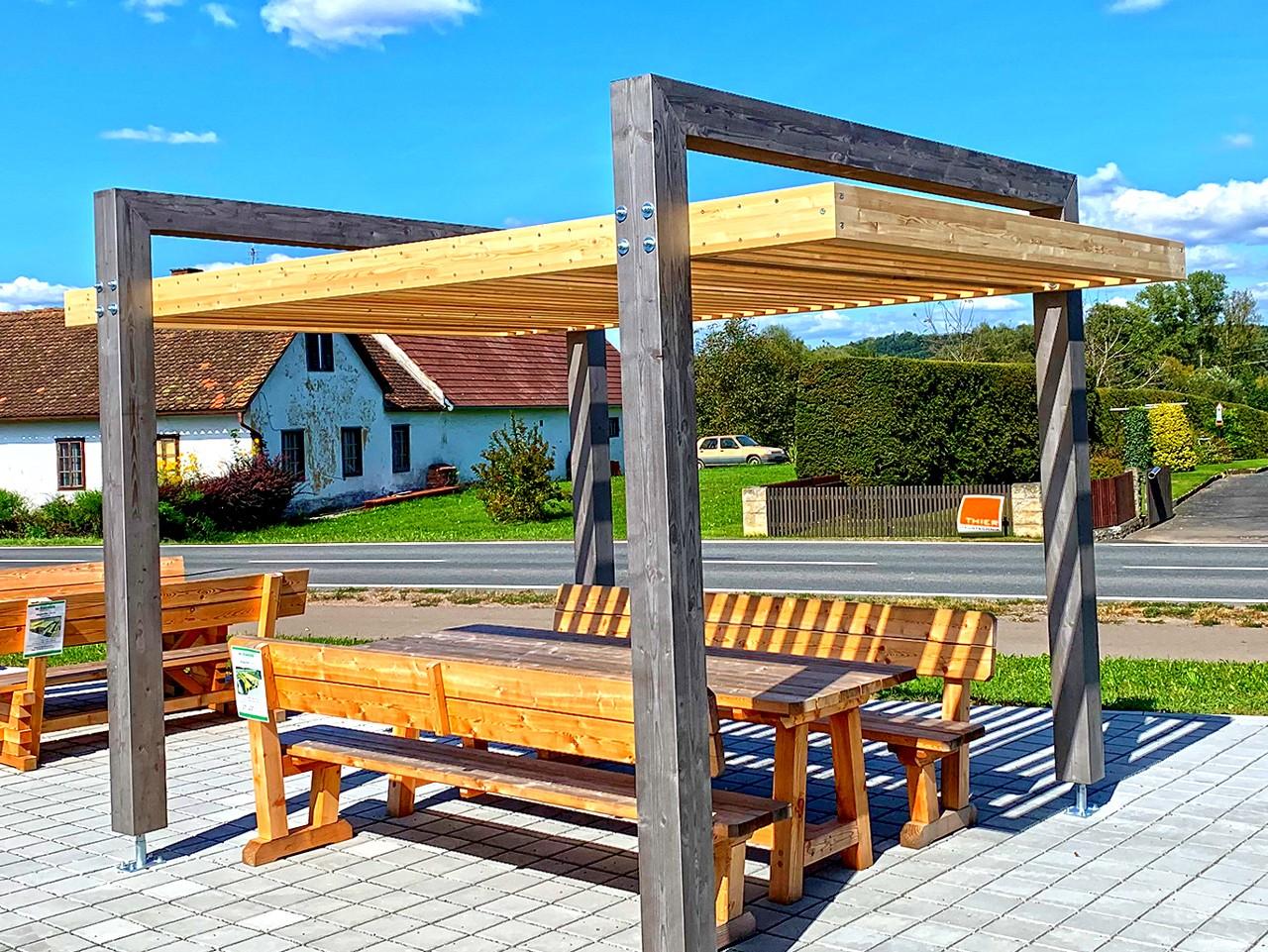 Holz Braunstein Garten Freizeit Sitzgarnituren